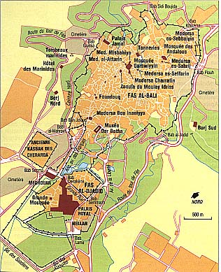 Map of Fez