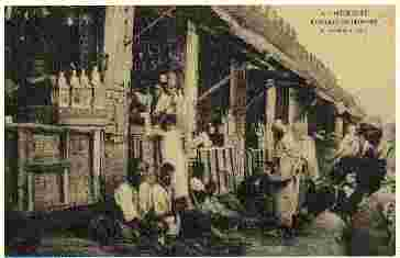 Jewish lantern makers around 1905