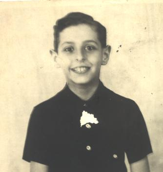 Stephen LOEB age 10 passport photo